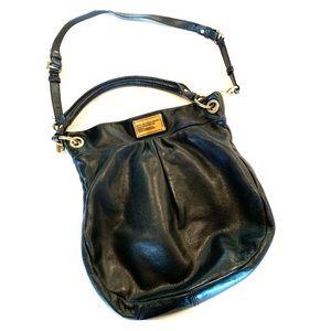 Black leather Marc Jacobs cross body bag